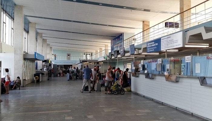 Основные данные о работе аэровокзала