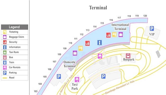 Терминалы Эсенбога