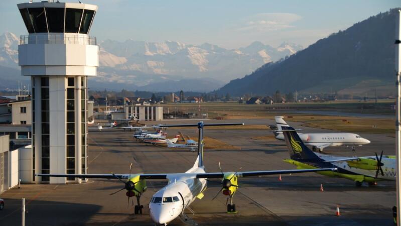 Аэропорт столицы Швейцарии