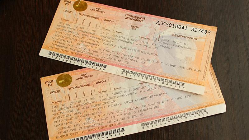 Перечень документов для покупки билета по копии
