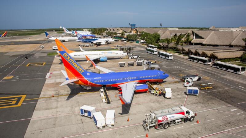 Рейс до Доминиканы с пересадкой