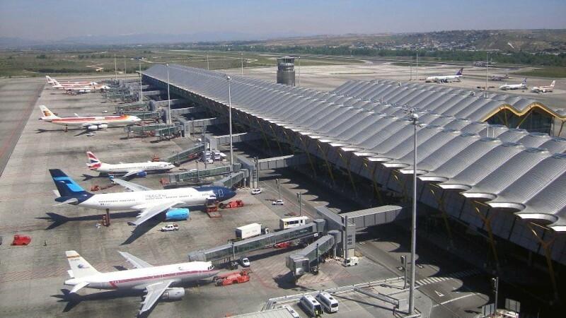 Международный аэропорт Мадрида