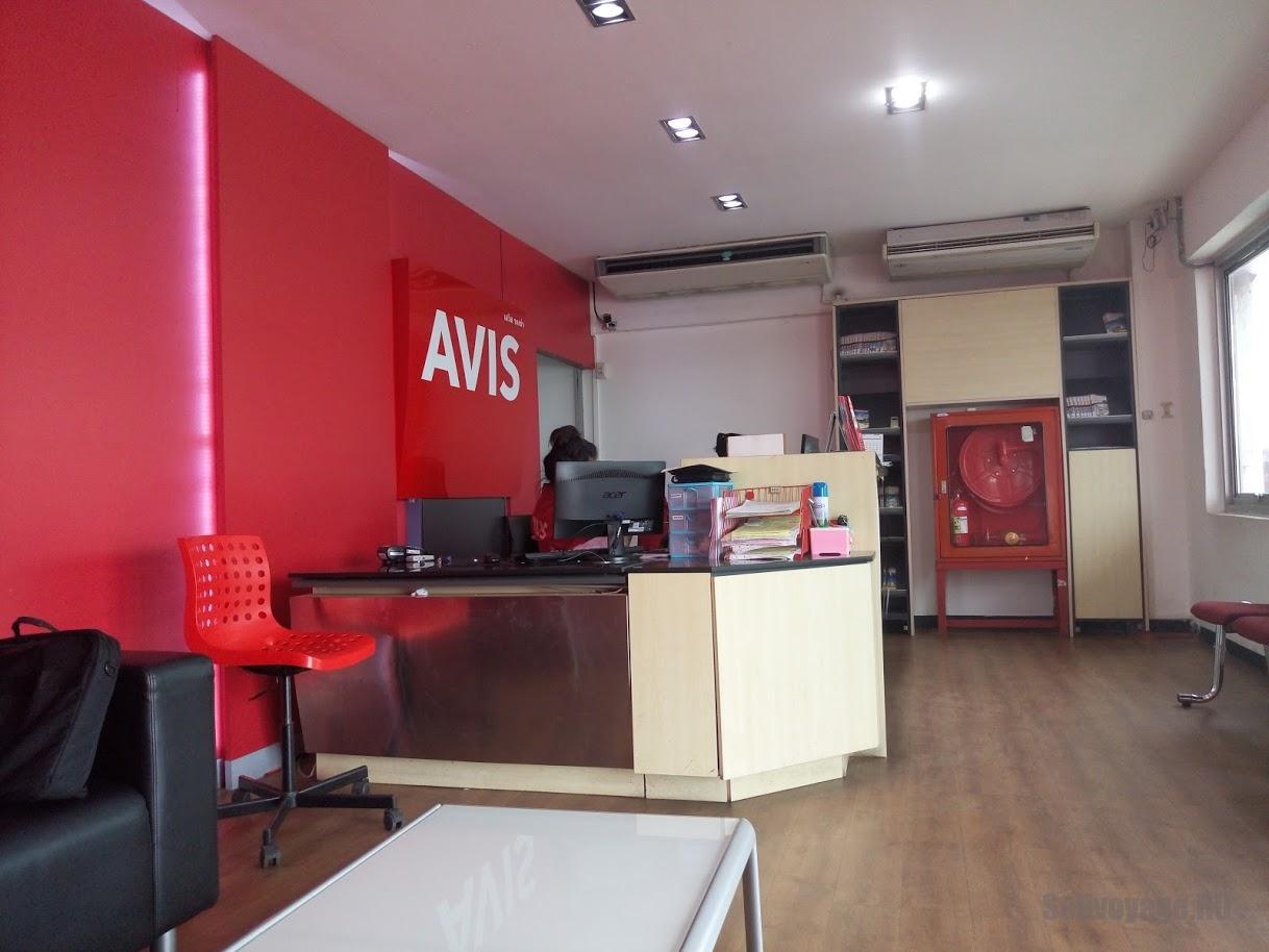 Офис прокатной конторы AVIS возле аэропорта Саварнабхуми (Бангкок)