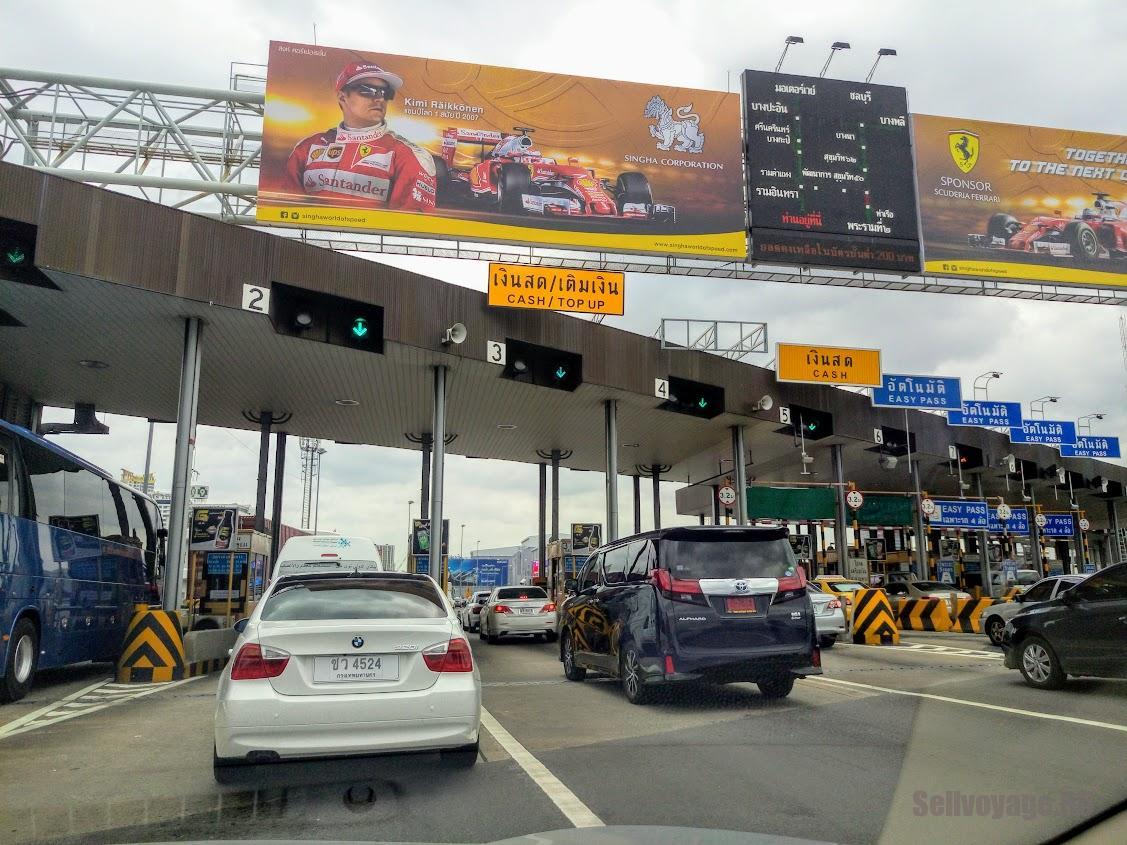 Оплата таиландского автобана