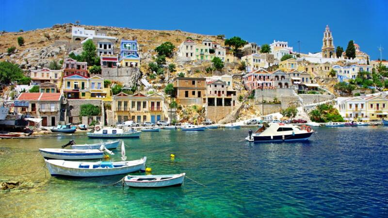 Туристическая Греция