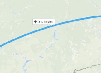 Сколько лететь до Сургута из Москвы прямым рейсом