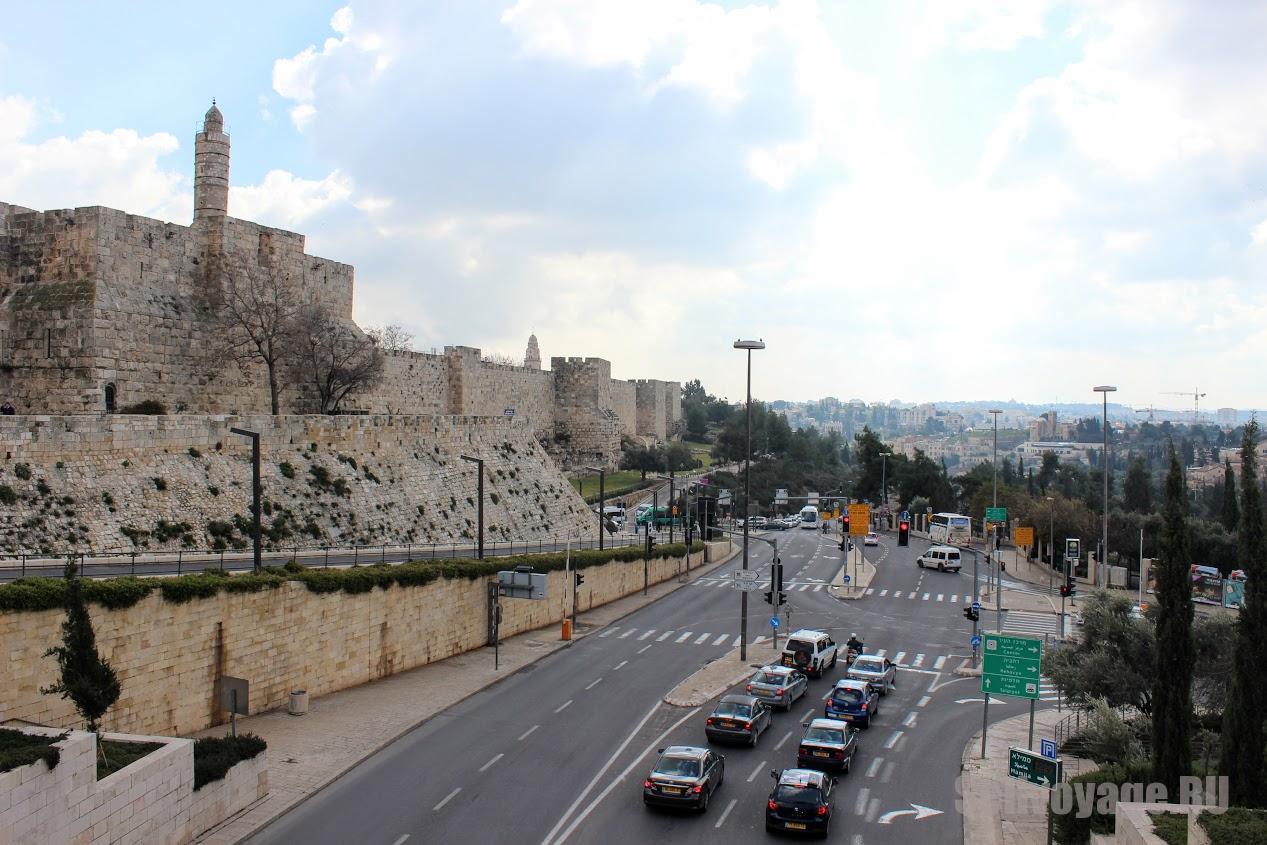 Дорога в Иерусалиме