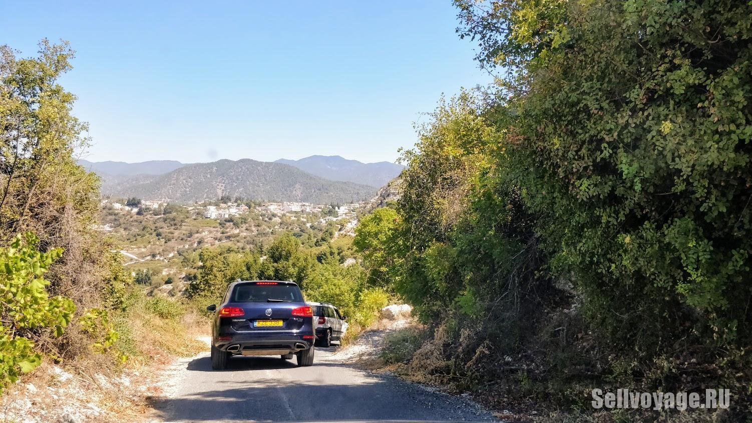Грунтовые дороги на Кипре