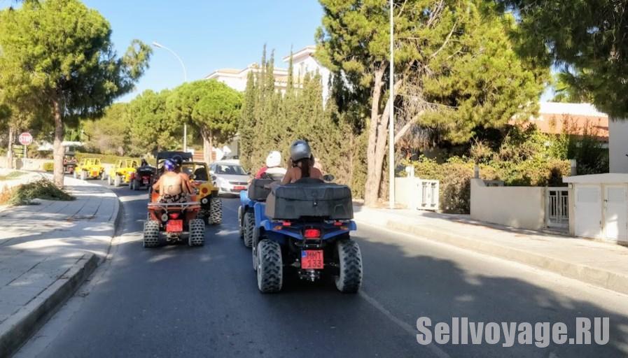 Прокат квадрацтклов на Кипре