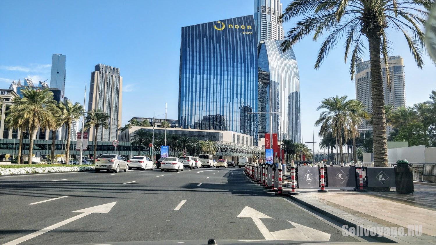 Дорога в центре Дубая